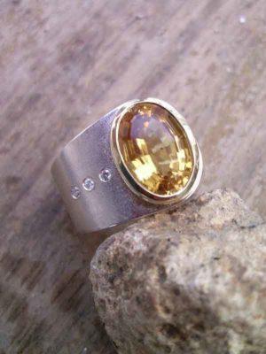"Ring ""Brillant"" Sattel"